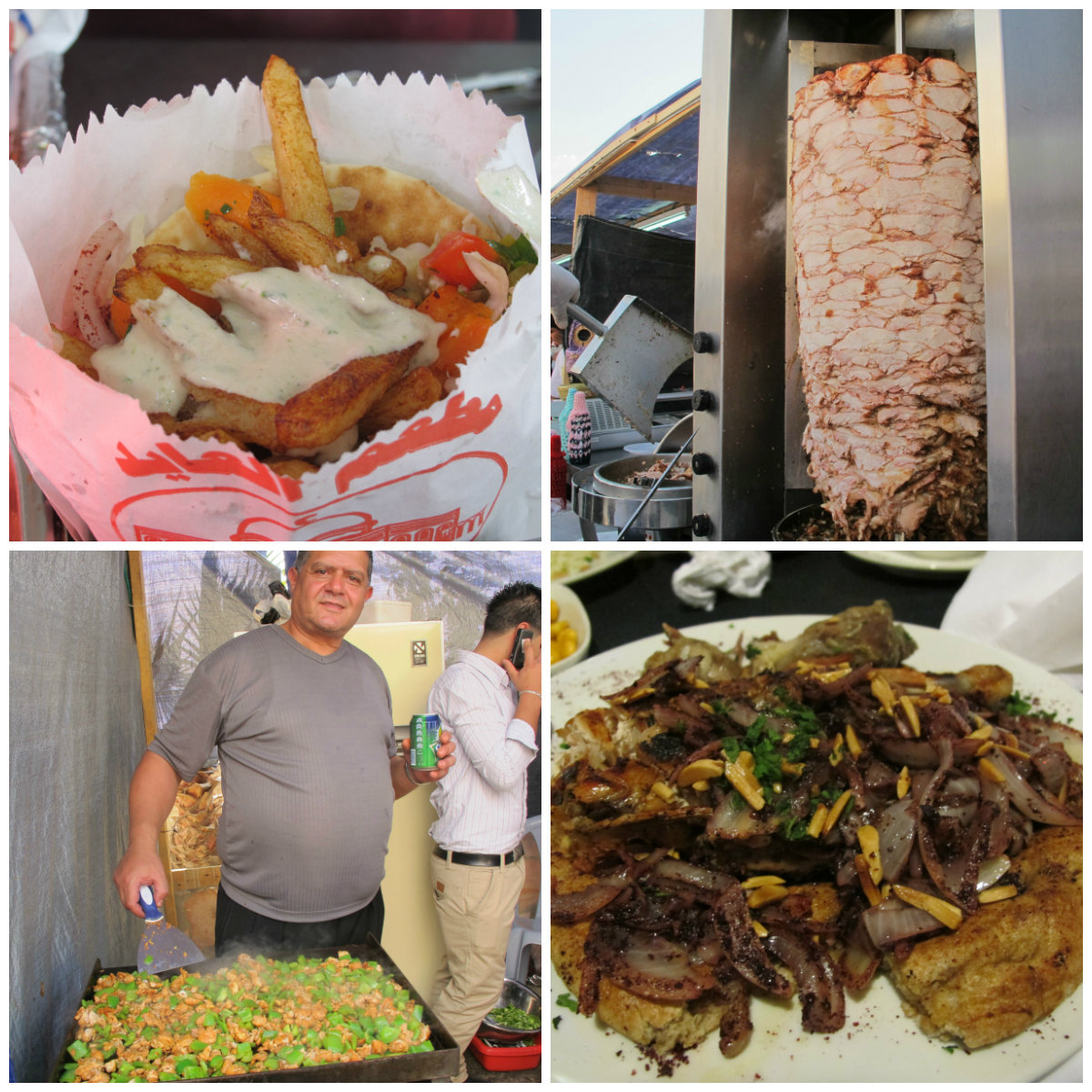 Food in Israel Palestine