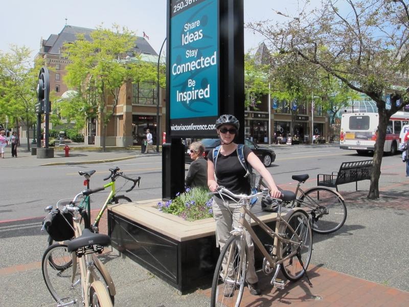 Beer and Biking Tour Victoria British Columbia
