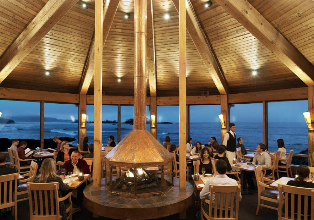 The Pointe Restaurant at the Wickanninish Inn Vancouver Island
