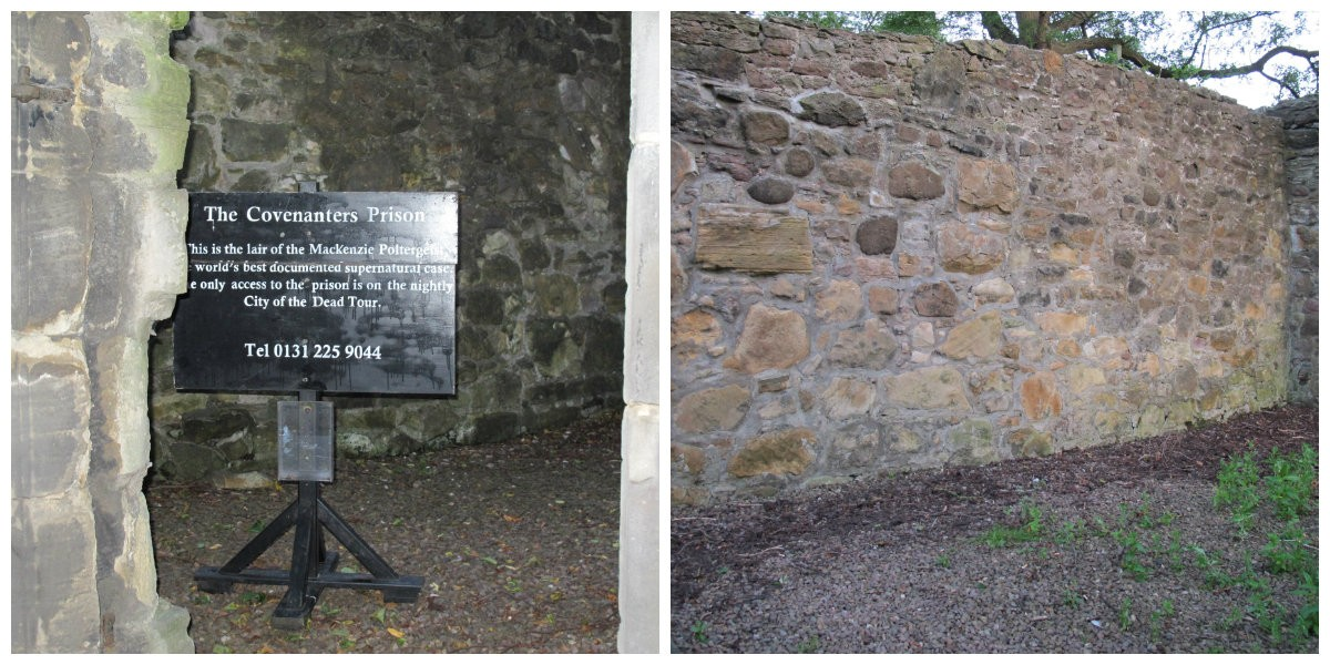Covenanters' Prison execution wall