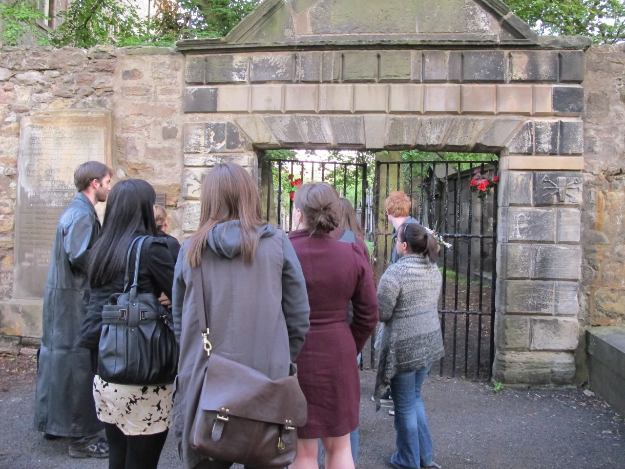 Entering Covenanters' Prison with the City of the Dead tour