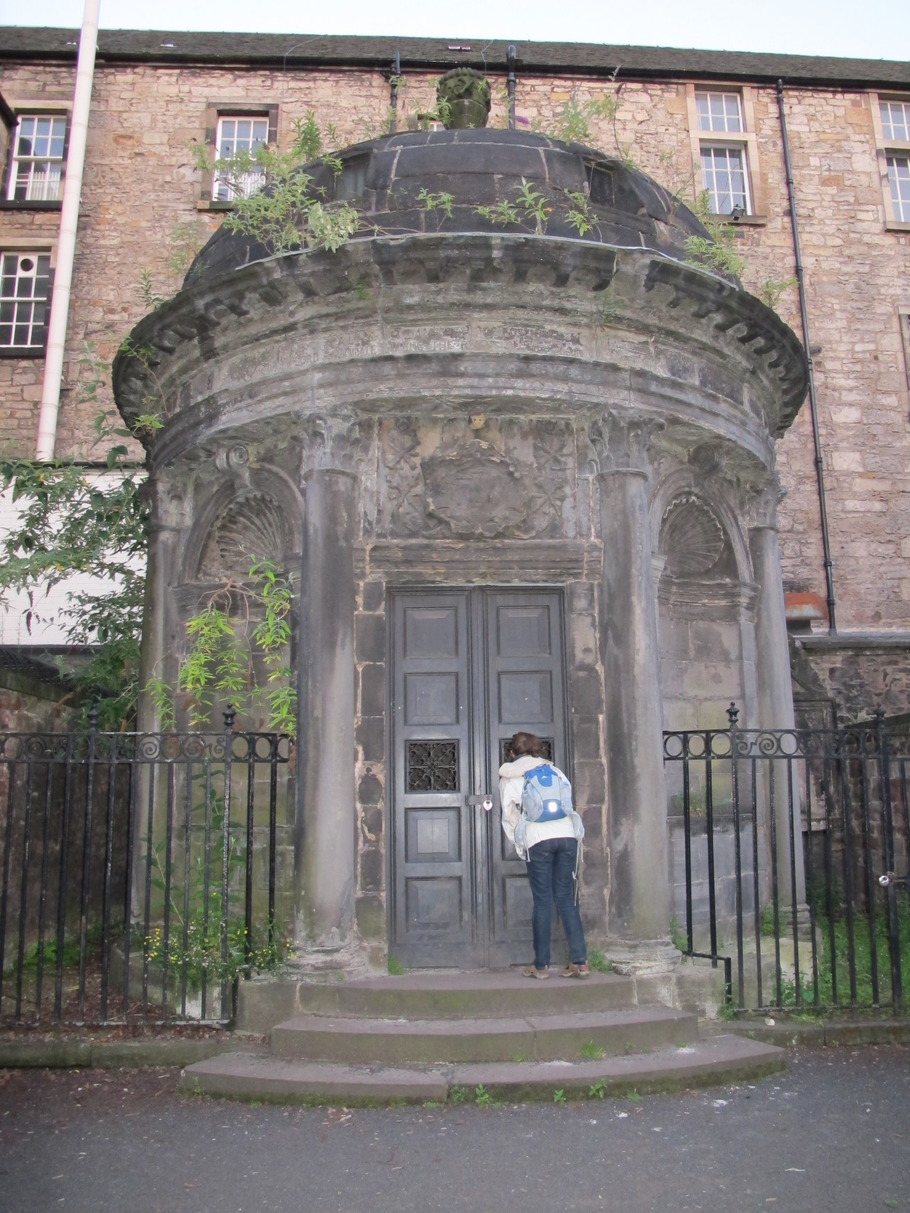Black Mausoleum in Greyfriar's Kirkyard