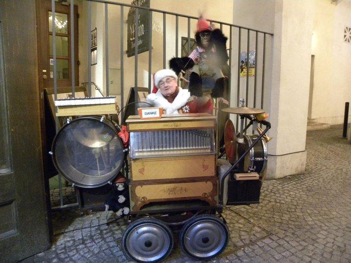 Angry Organist German Christmas Market