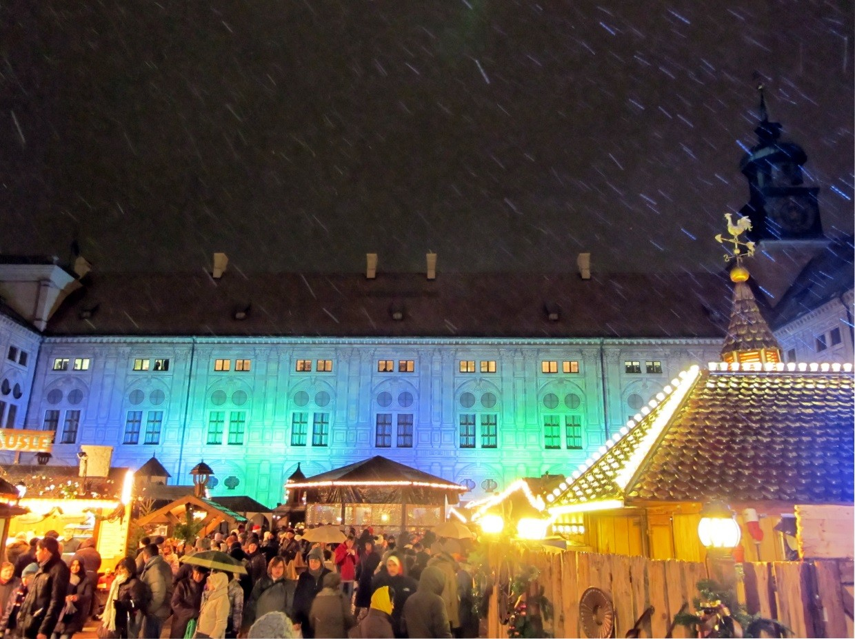 Christkindlmarkt Christmas Market Germany Munich