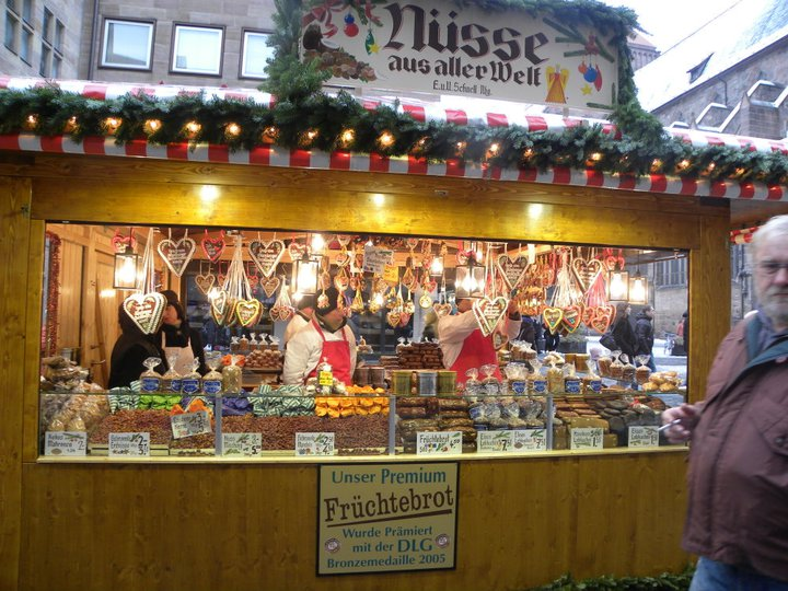 German Christkindlmarkt Christmas Market