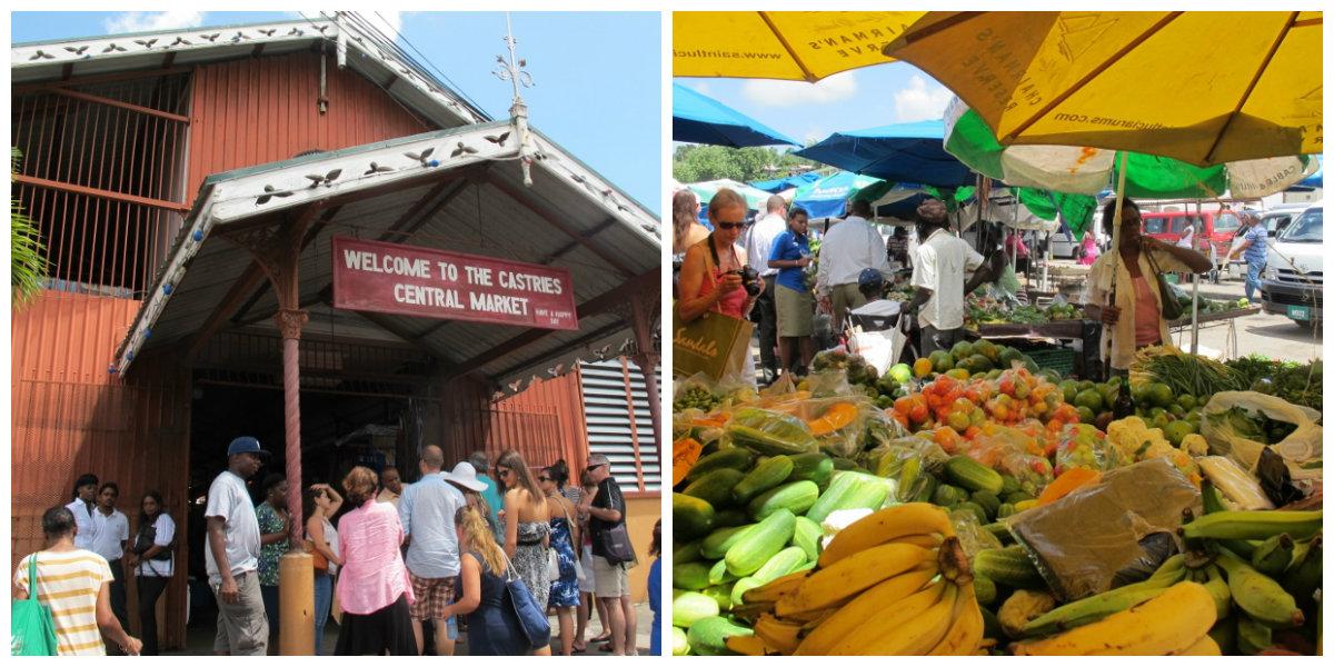 Castries Farmer's Market, St. Lucia