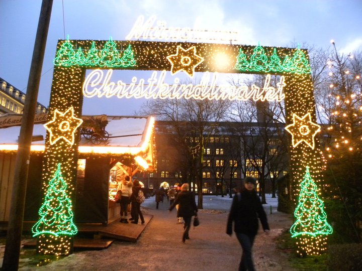 Christkindlmark Christmas Market Germany Munich