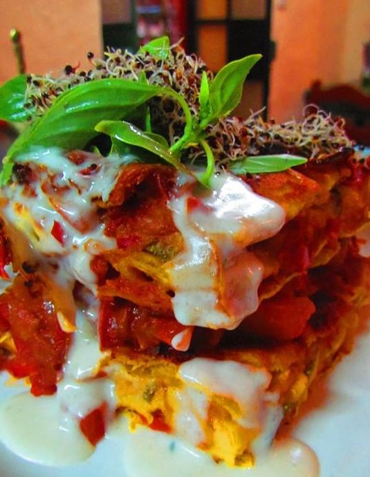 greenpoint - vegan lasagna