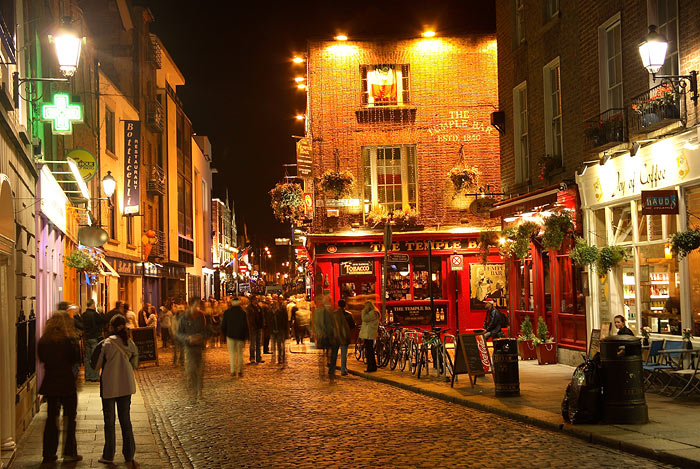 St. Patrick's Day in Dublin Ireland