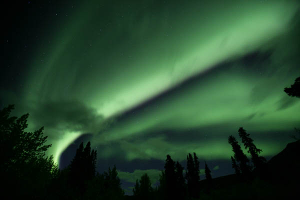 Aurora Borealis, Dempster Hwy. area