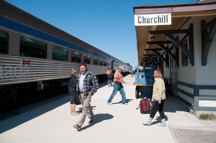 Via Train to Churchill, Manitoba
