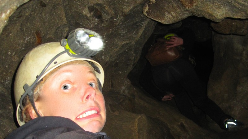 Caving in Arbraska Lafleche Park