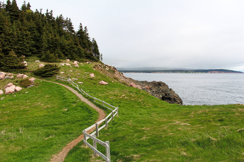 Middle Head Trail in Nova Scotia