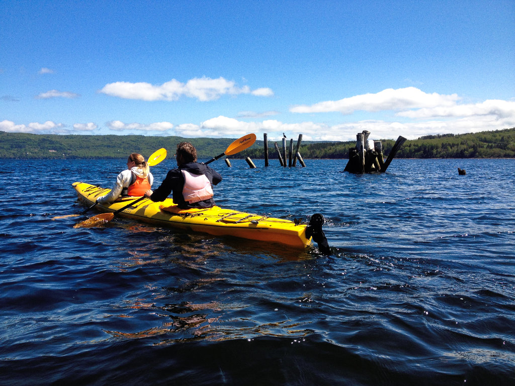Kayaking in Cape Breton, Nova Scotia