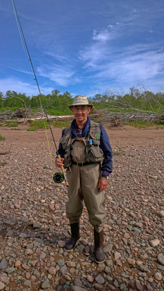 Fly fishing in Cape Breton, Nova Scotia