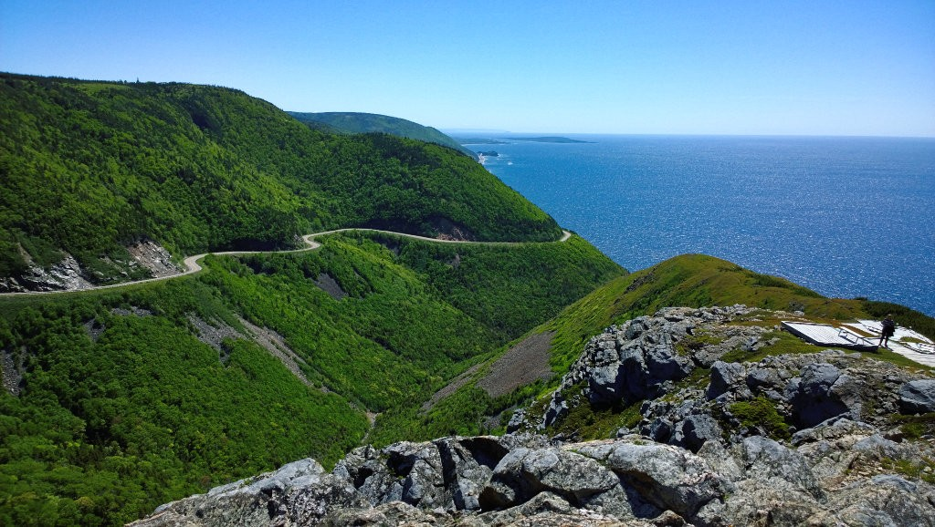 Skyline trail in Cape Breton, Nova Scotia