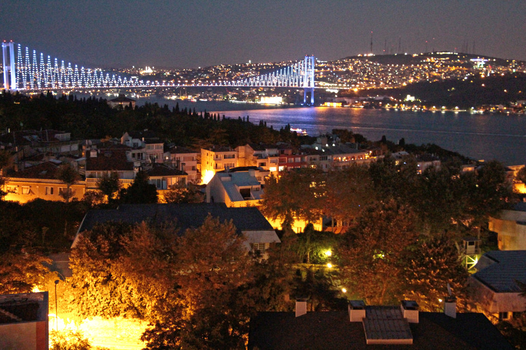 Istanbul: the City that Borders Two Continents.