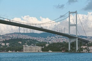 The Bosphorus Bridge Istanbul