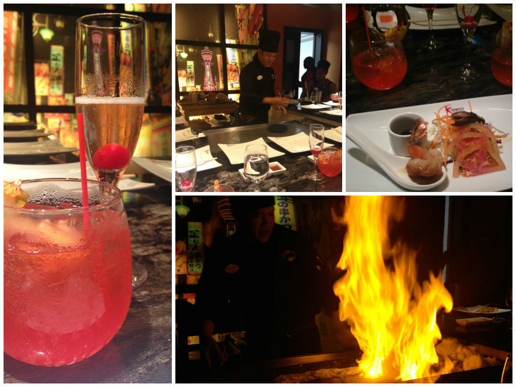 Signature Cocktails and a Dragon Fire on the Grill at Sandals Resorts