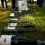 So much wine at Vineland Estates