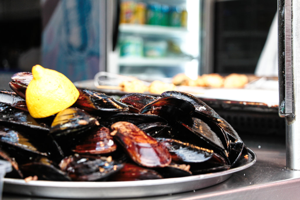 Street Food: Mussels