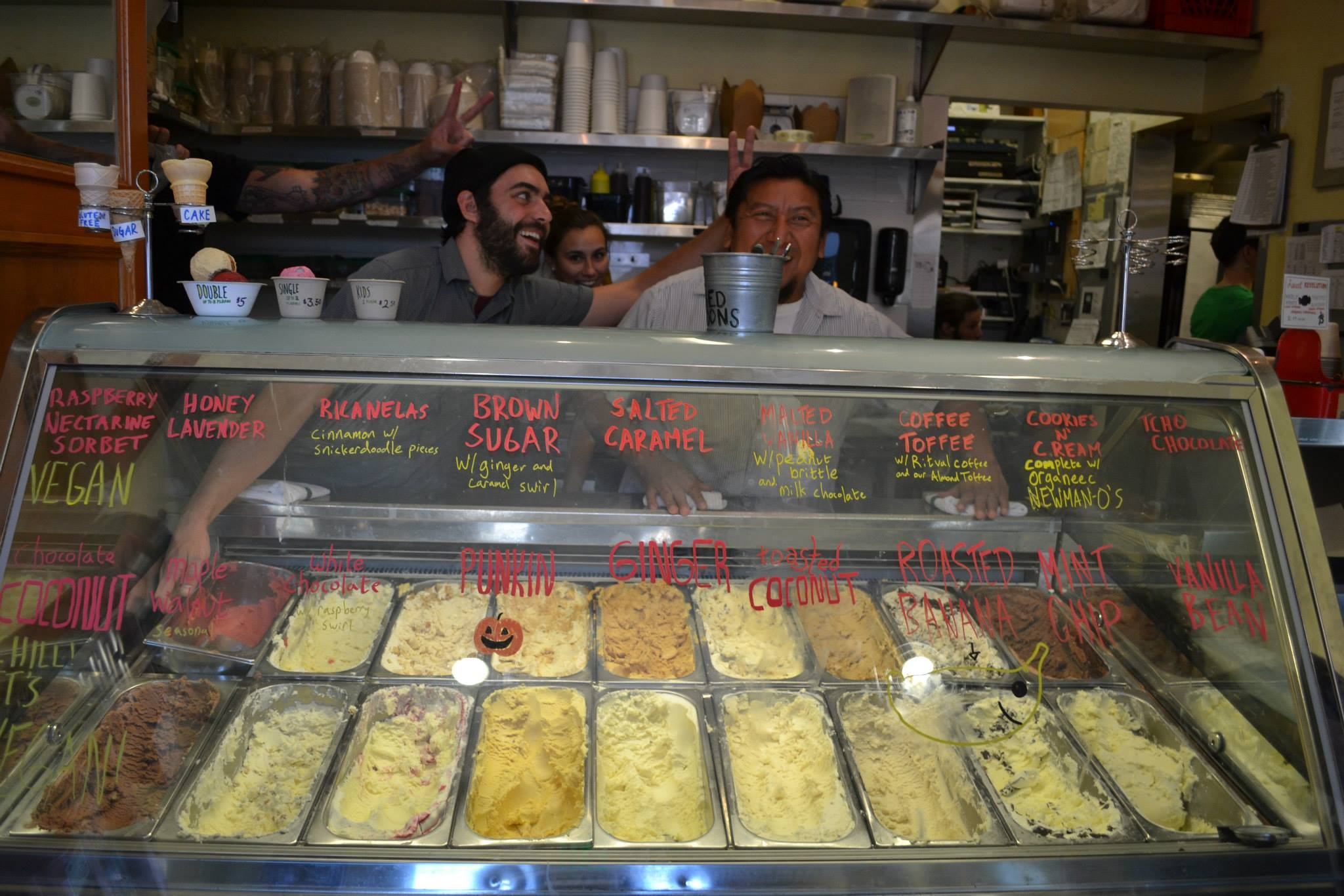 Homemade Ice Cream at Bi-Rite Creamery in San Francisco
