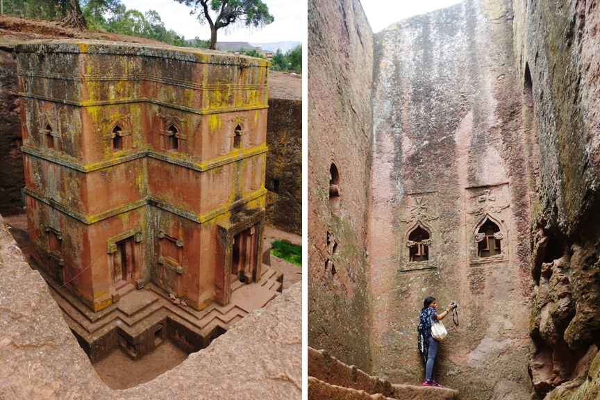 Lalibela churches.