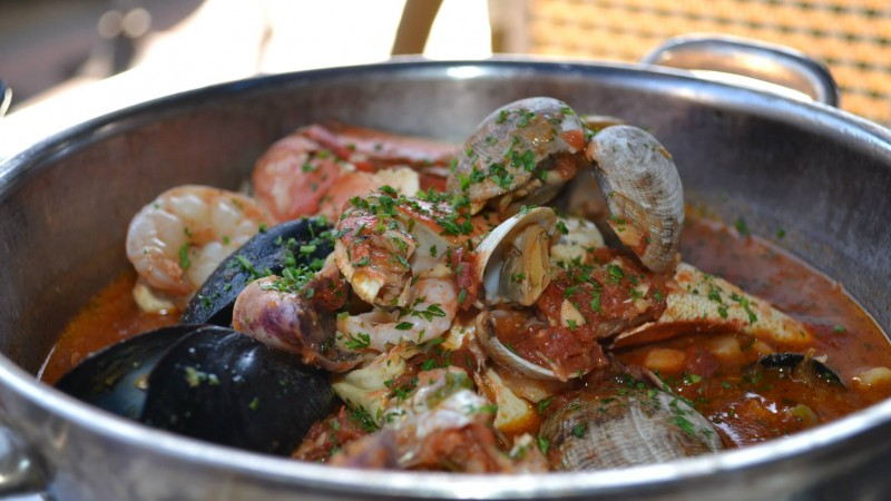 Traditional Italian Dish, Cioppino - a traditional San Francisco dish