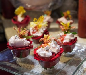 Gourmet Street Food, Flower desserts at Rosse Gourmet