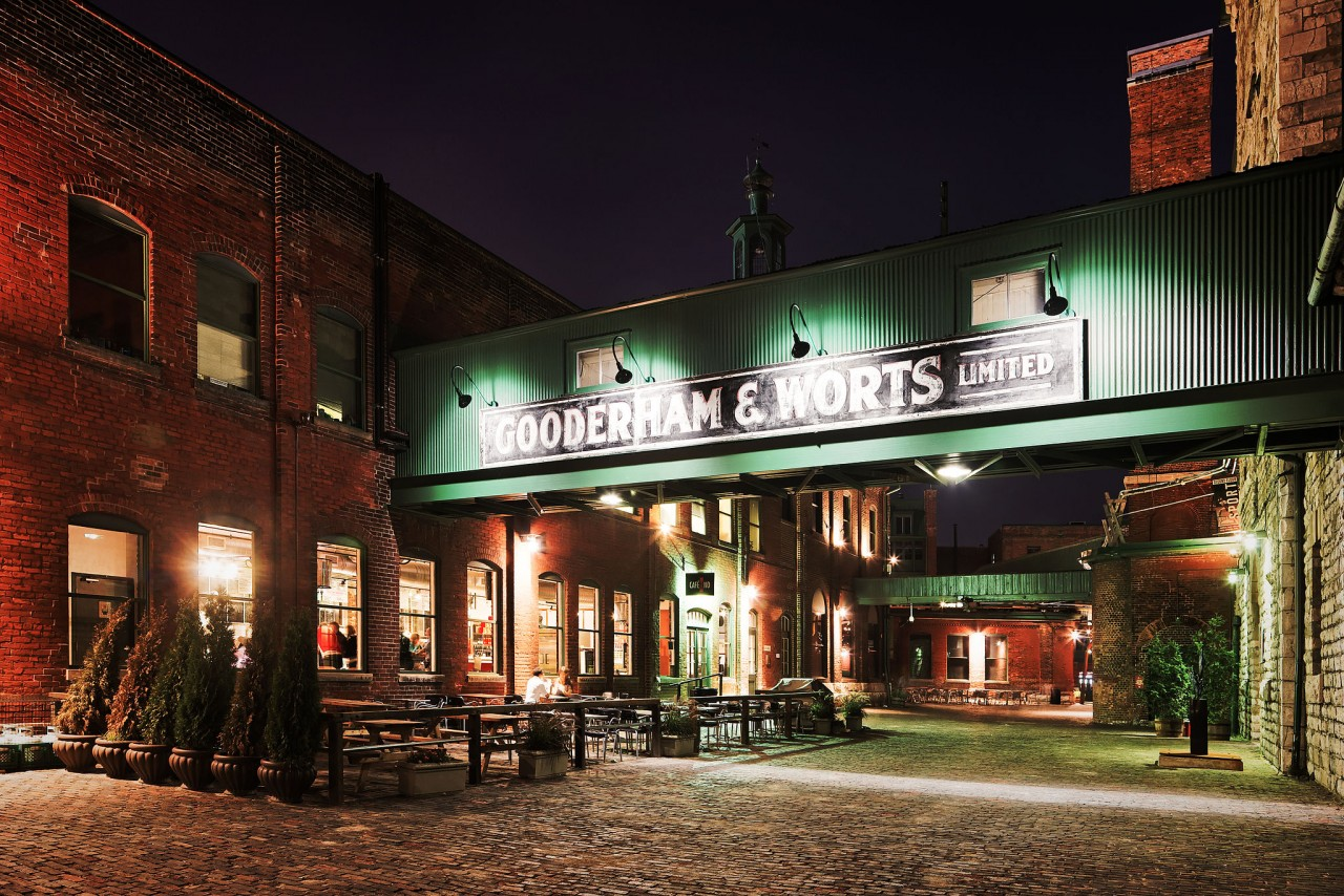 Gooderham & Worts Distillery District Toronto