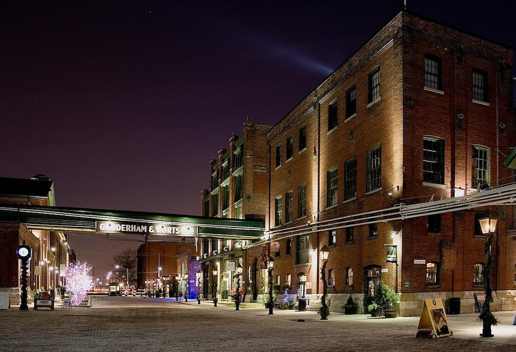 Gooderham and Worts Distillery District Toronto