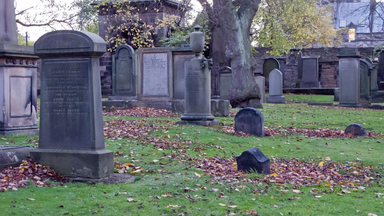 Greyfriars Kirkyard Edinburgh