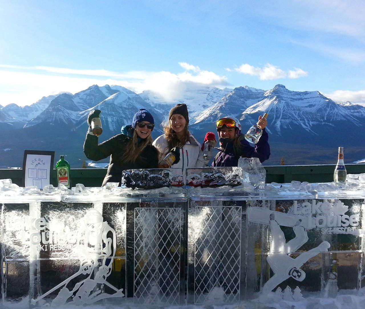 Whitehorn Ice Bar, Lake Louise