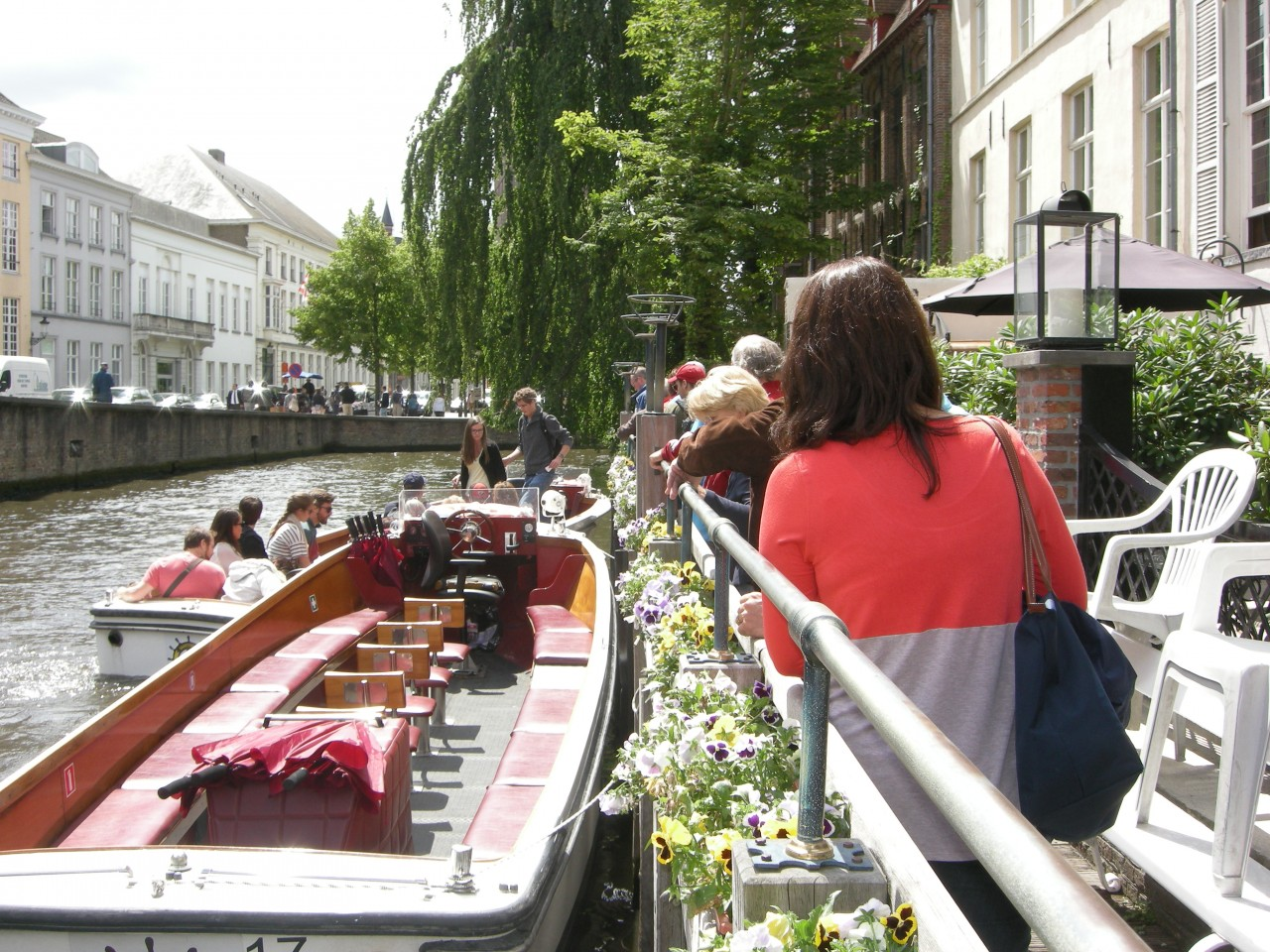 Canal trip in Bruges