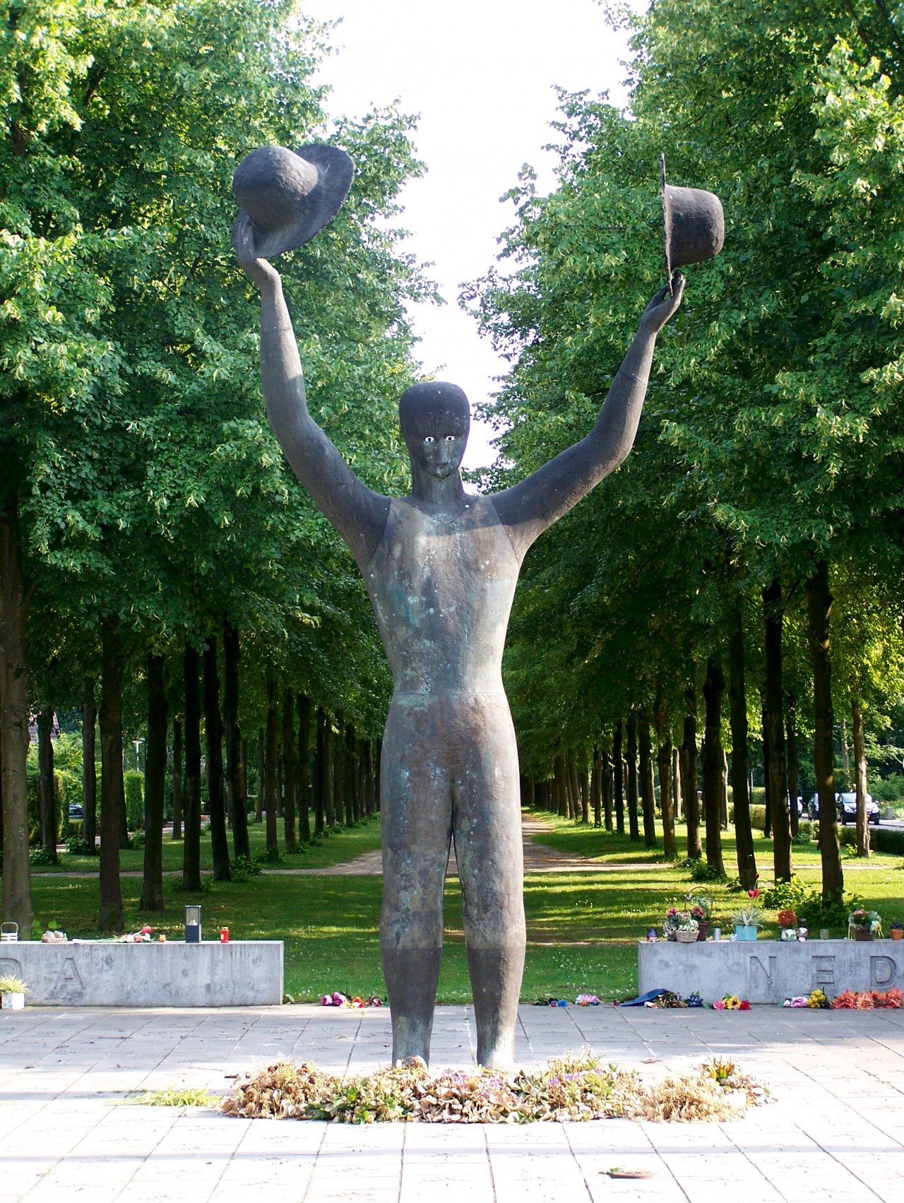 National Canadian Liberation monument in Apeldoorn, the Netherlands