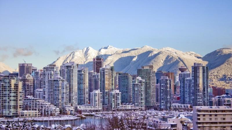 Snowy Vancouver