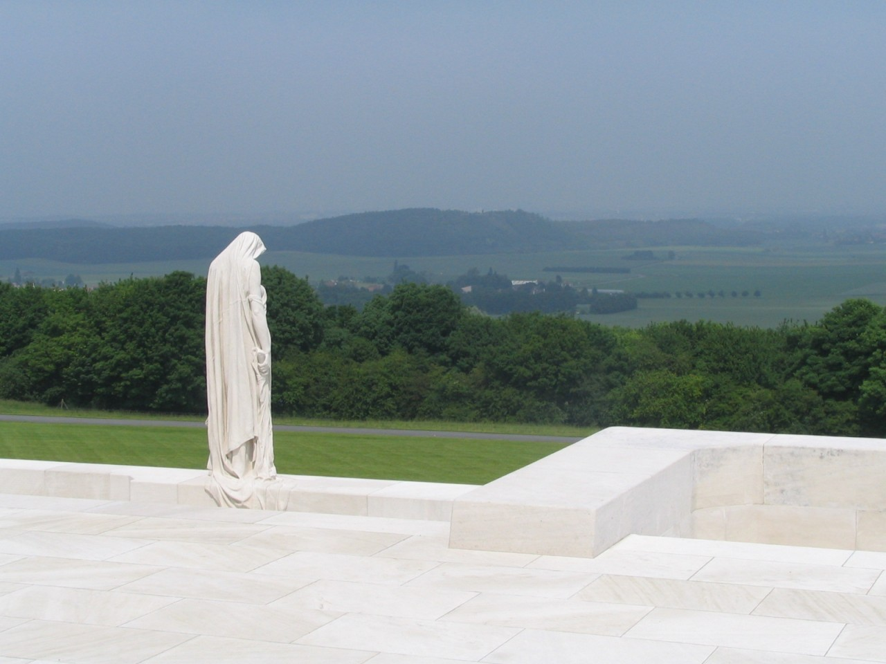 Vimy Ridge Memorial in France
