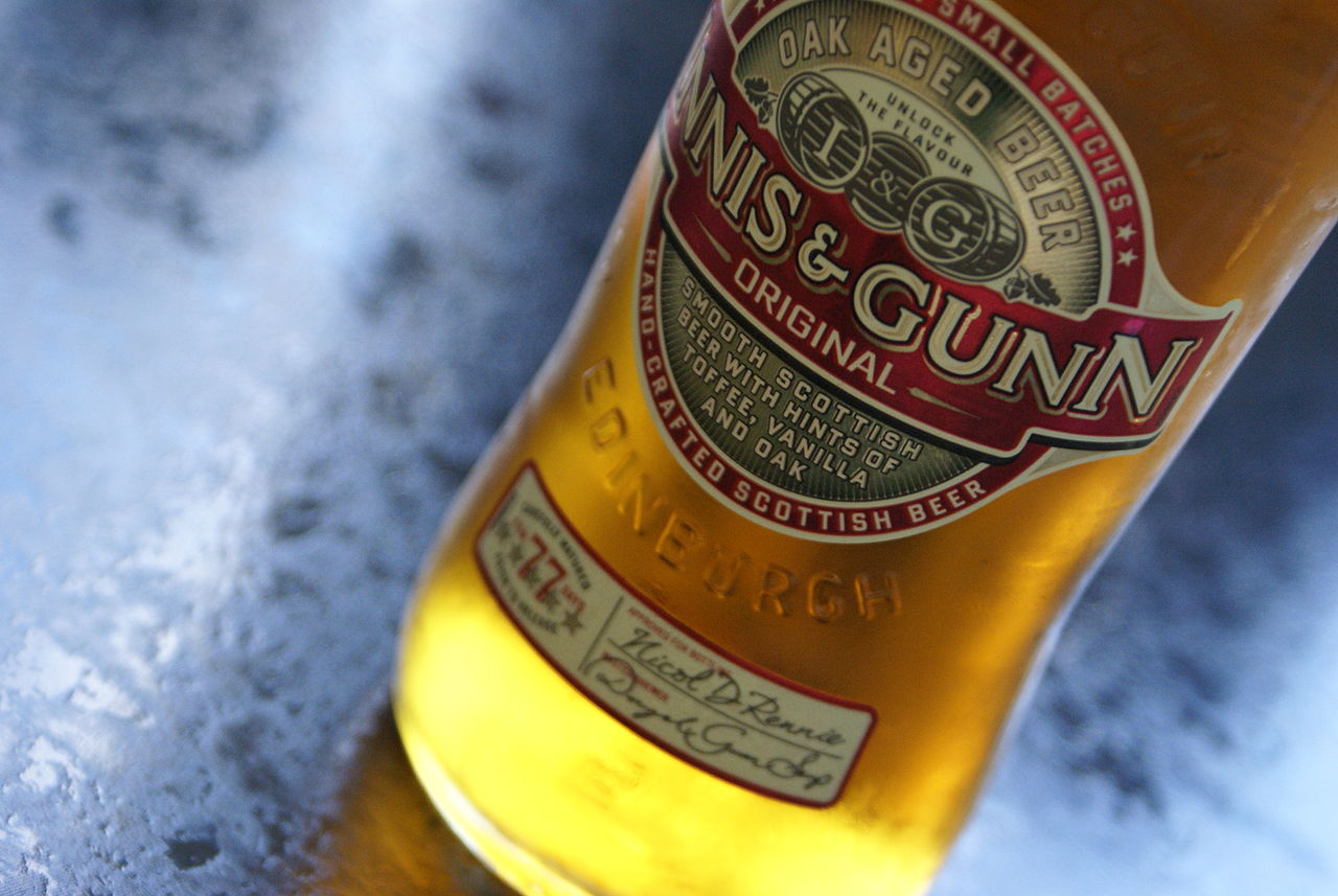 Innis and Gunn Christmas Cocktail