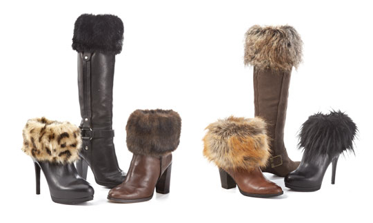 Fabulous Fur's boot toppers