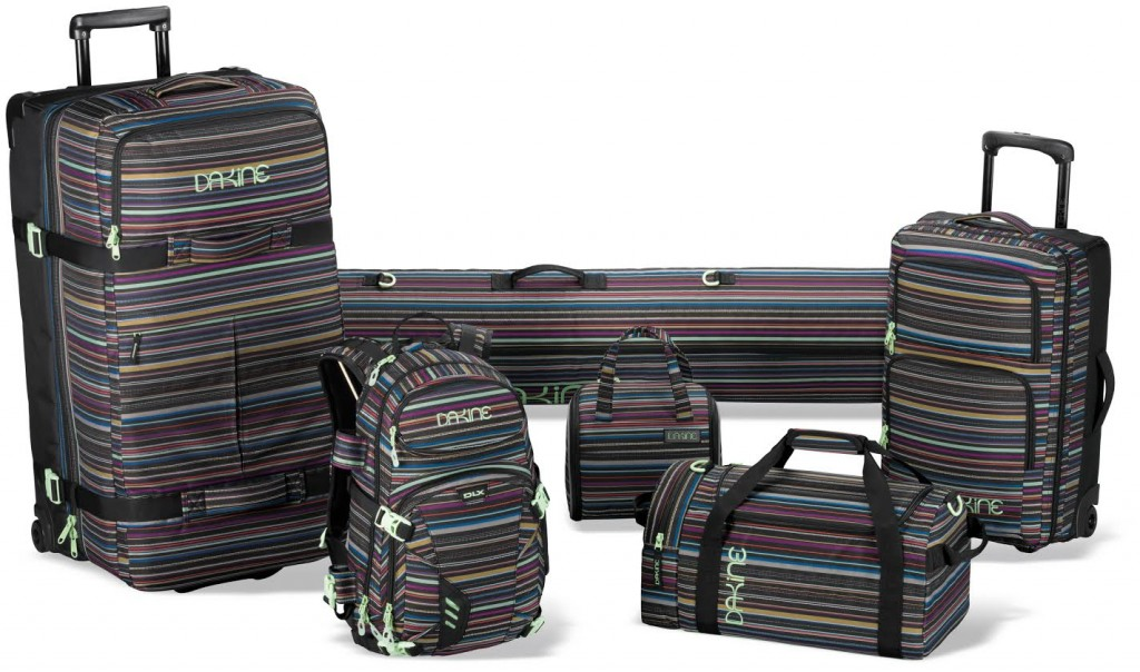 Dakine Luggage Taos Collection