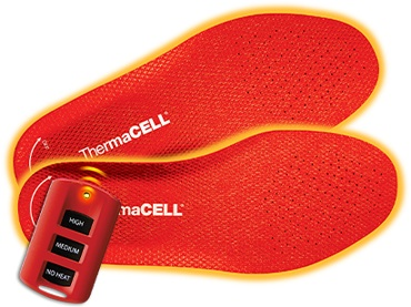 ThermaCELL's heated insoles