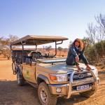 Shamini on safari