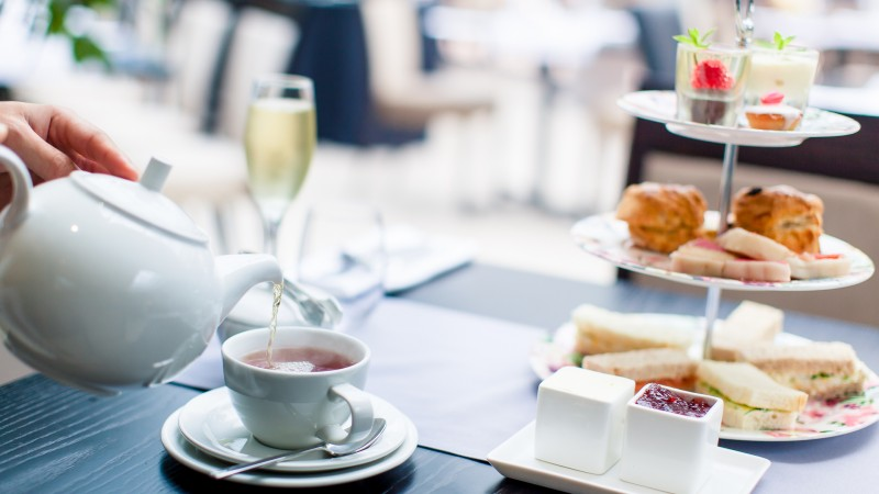 Tea and Sandwiches at Wickwoods Country Club, Hotel and Spa