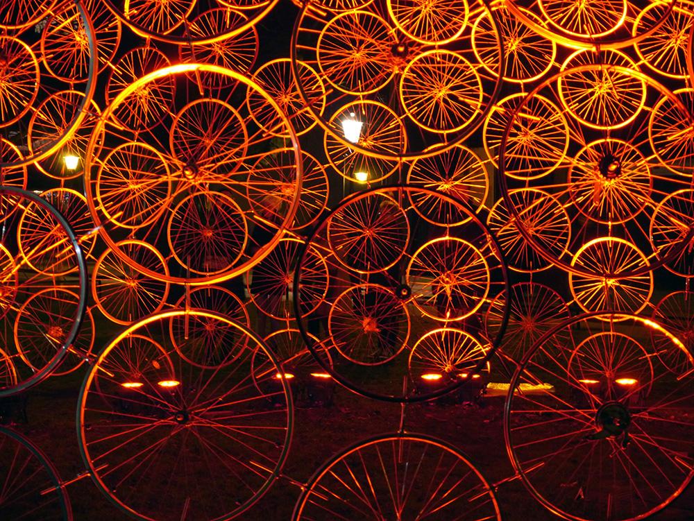 Amsterdam light show