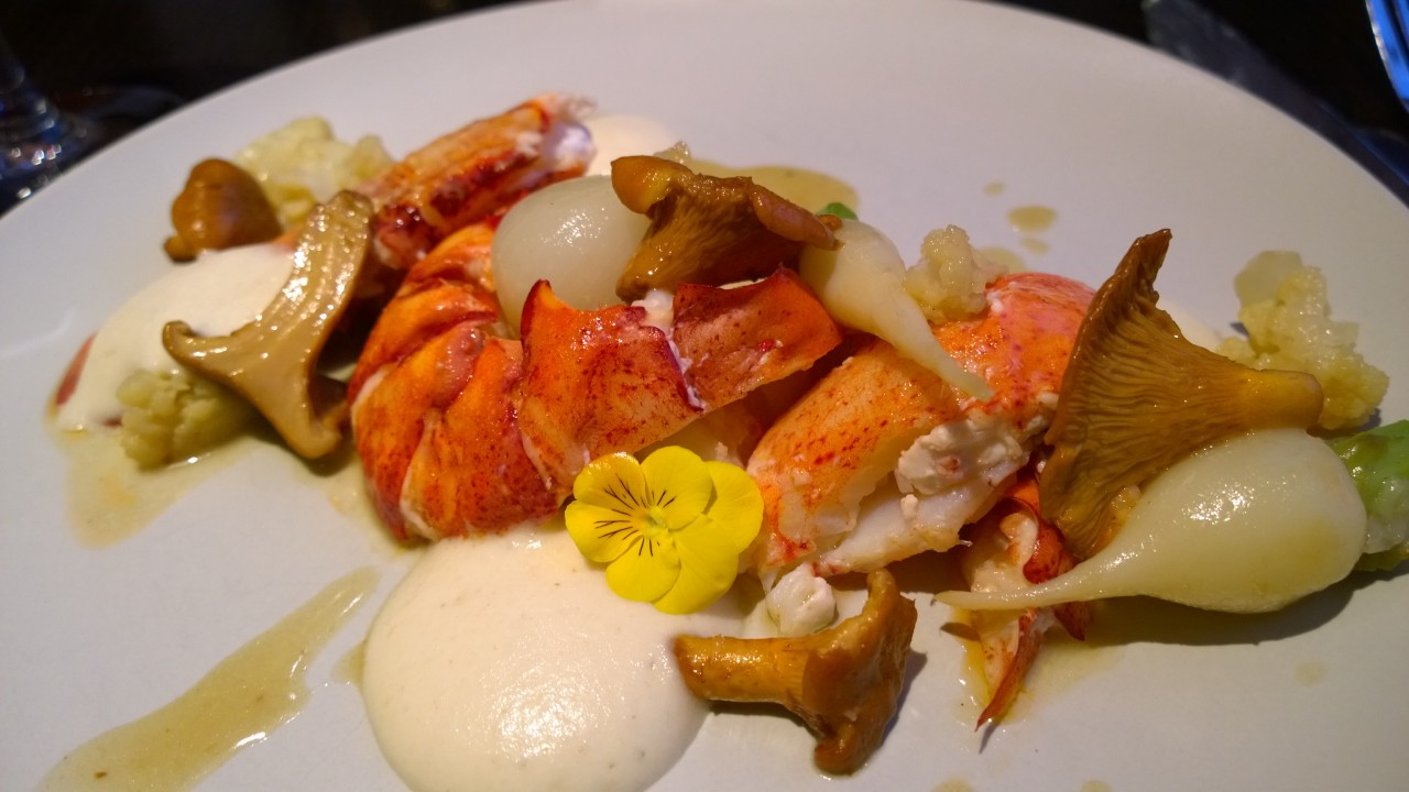 Contemporain lobster Montreal