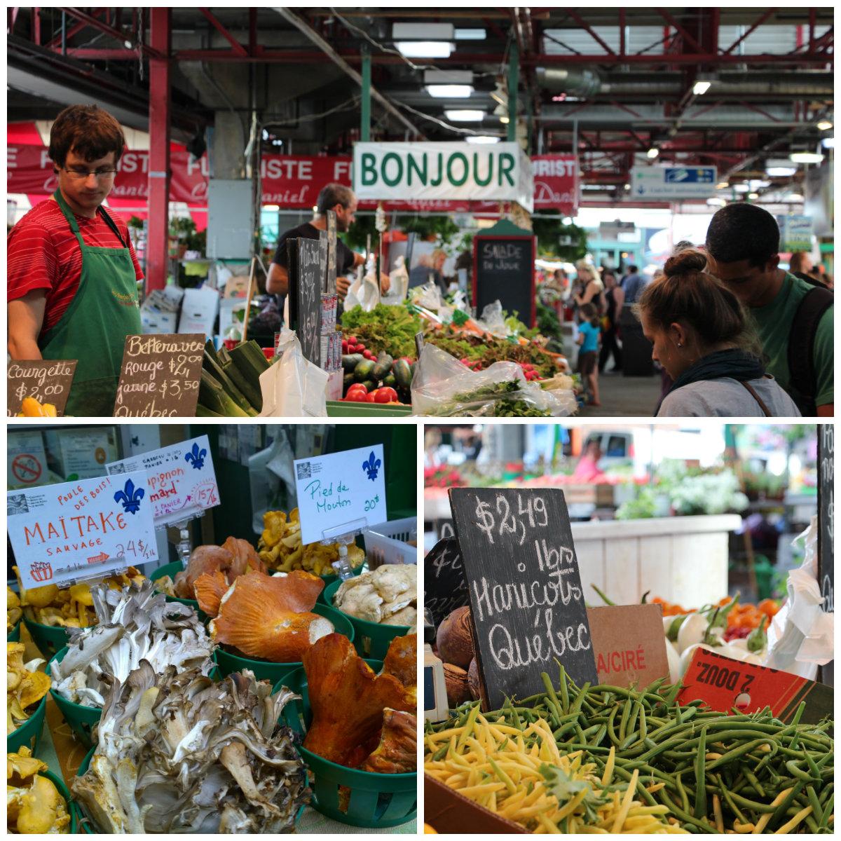 Jean Talon Montreal Market