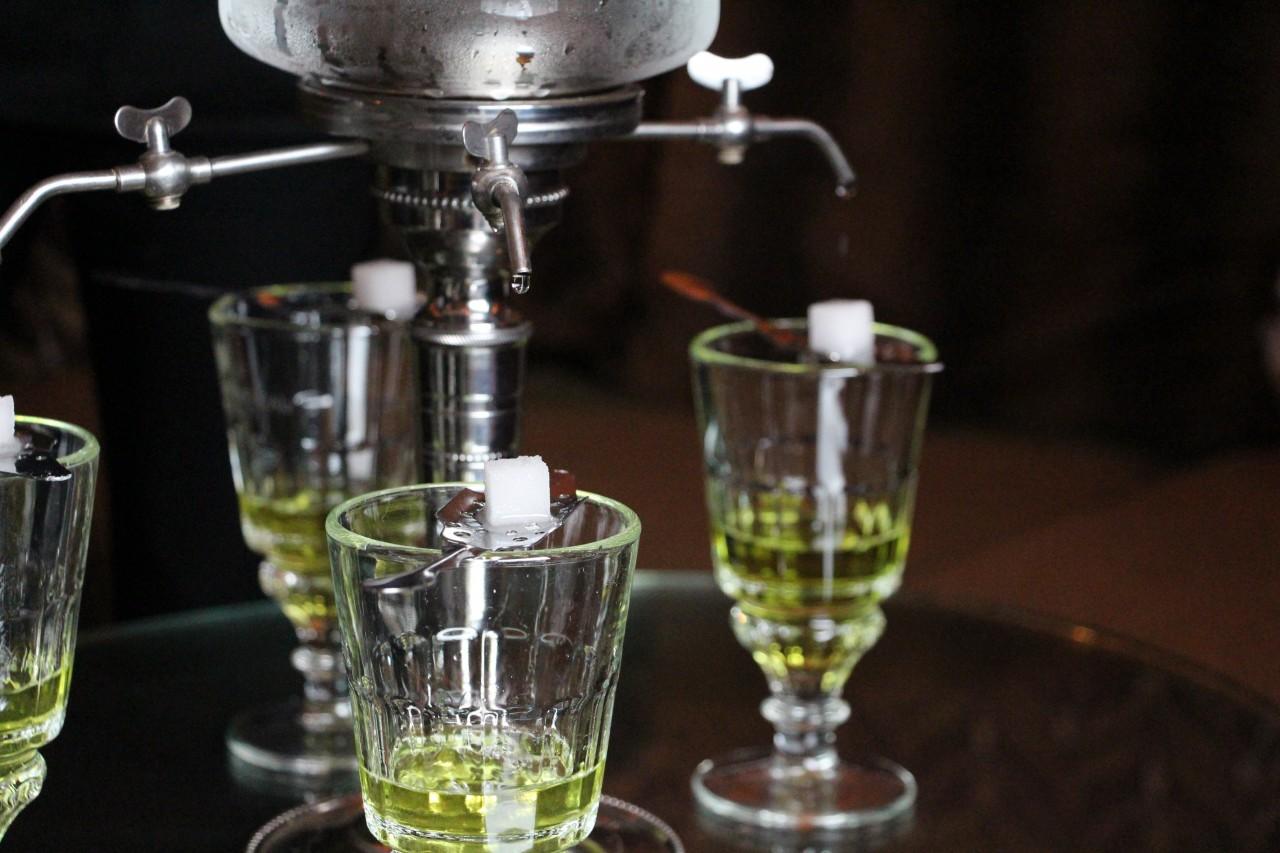 Sarah B absinthe sugar