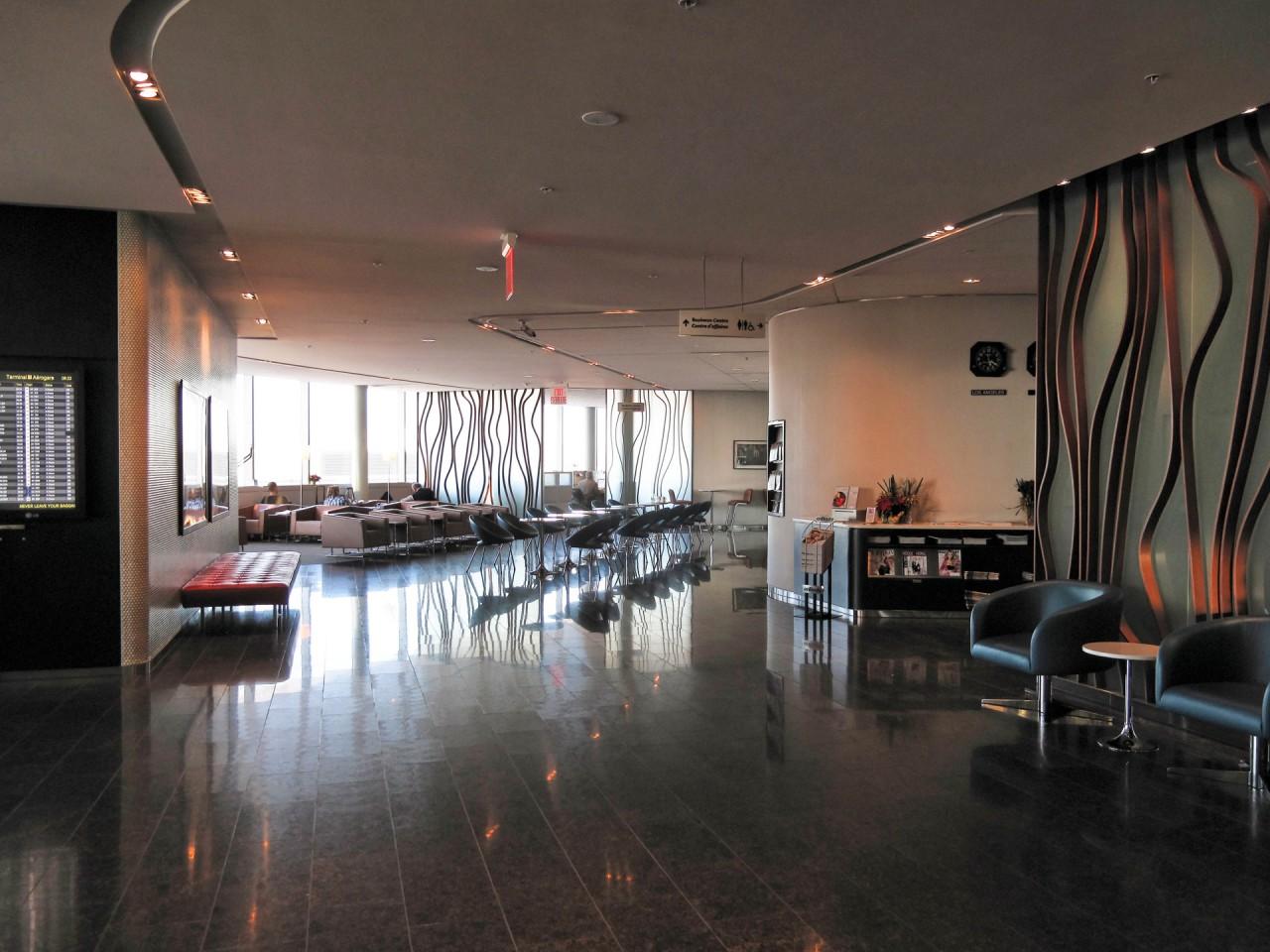 YYZ Maple Leaf lounge by s. yume