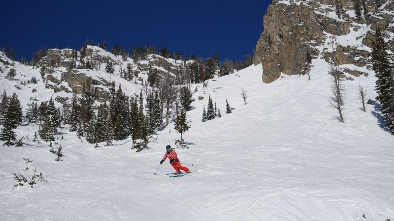 Down the Slopes at Jackson Hole