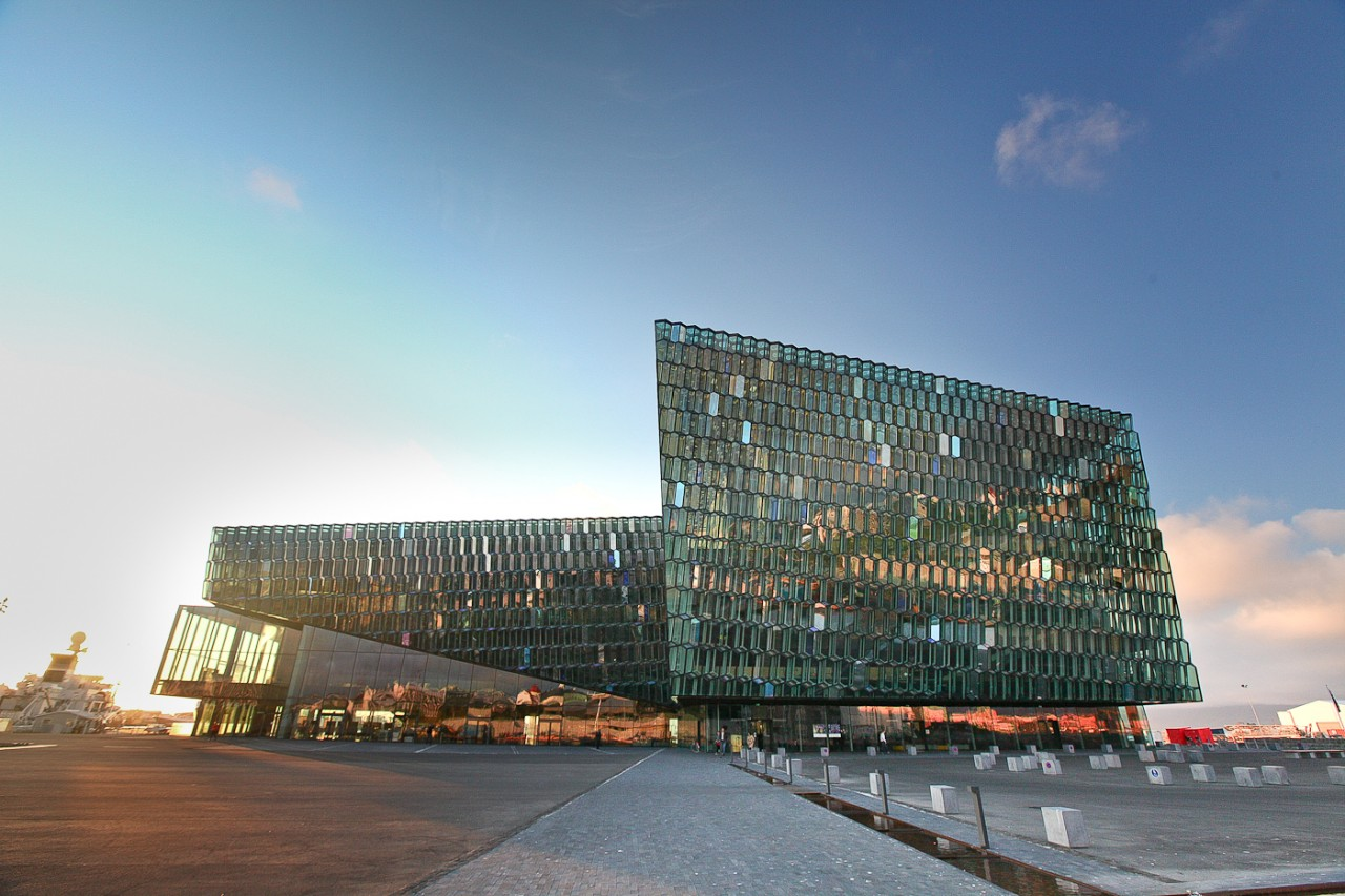 Harpa Building Iceland
